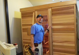 Sauna Exterior Door Trim