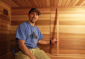 Sauna Interior Trim For Seams