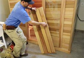 Sauna Duckboard Flooring